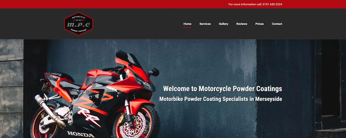 Motorcycle Powder Coatings