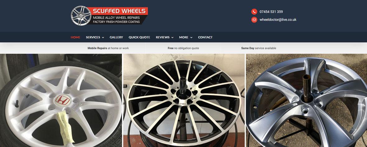 Scuffed Wheels